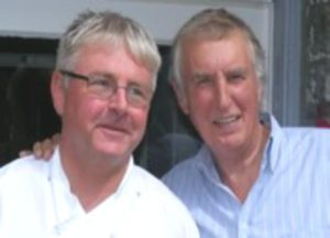 Bryan and Johnnie Walker